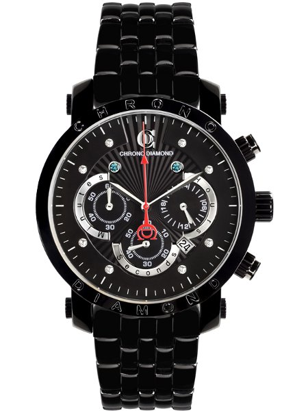 Chrono Diamond Boreas noire IP noire
